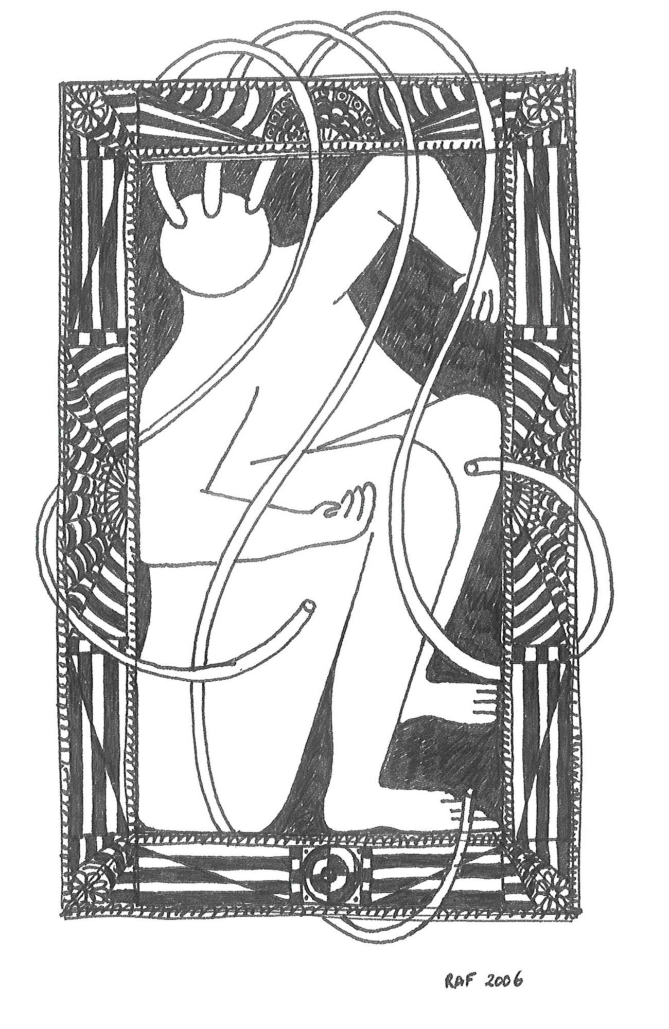 Arts décoratifs, dessin, Raf Listowski, 2006