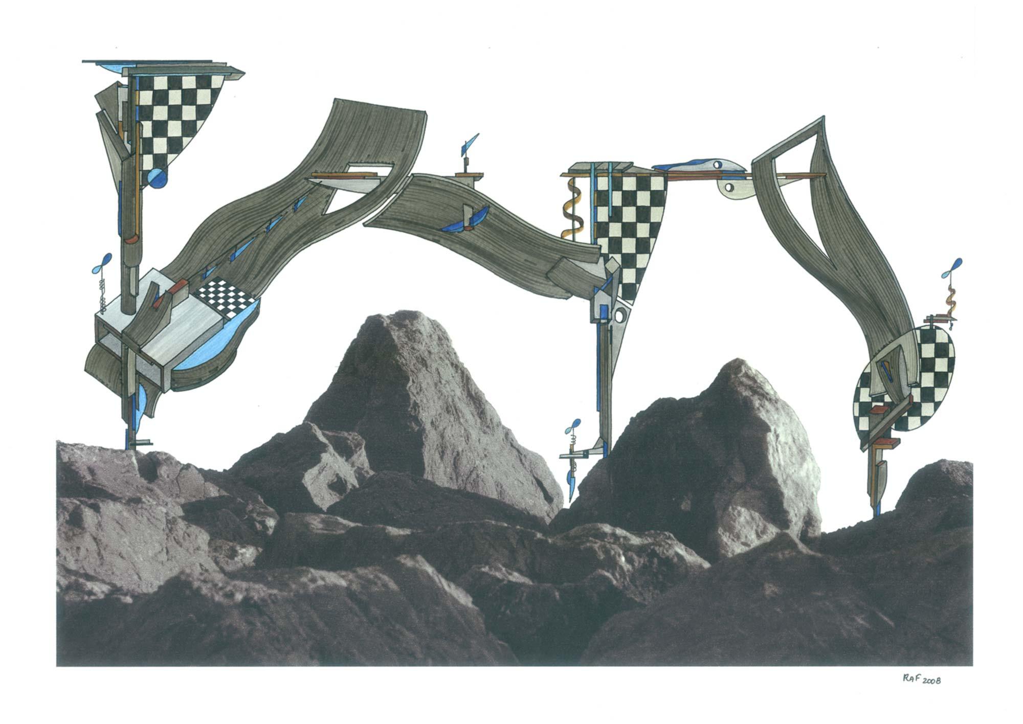 Complexity, dessin, Raf Listowski, 2008