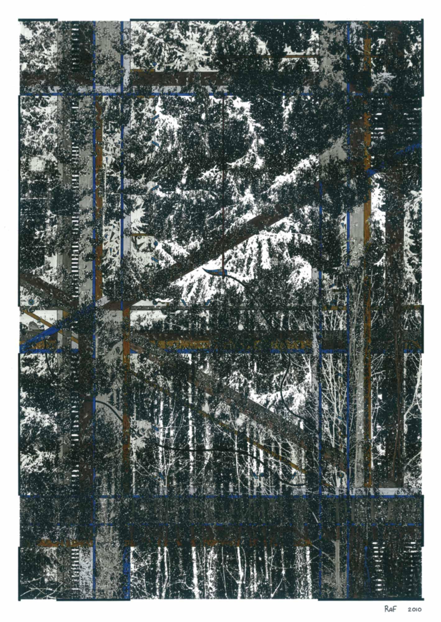 Le silence du tropique, dessin, Raf Listowski, 2010