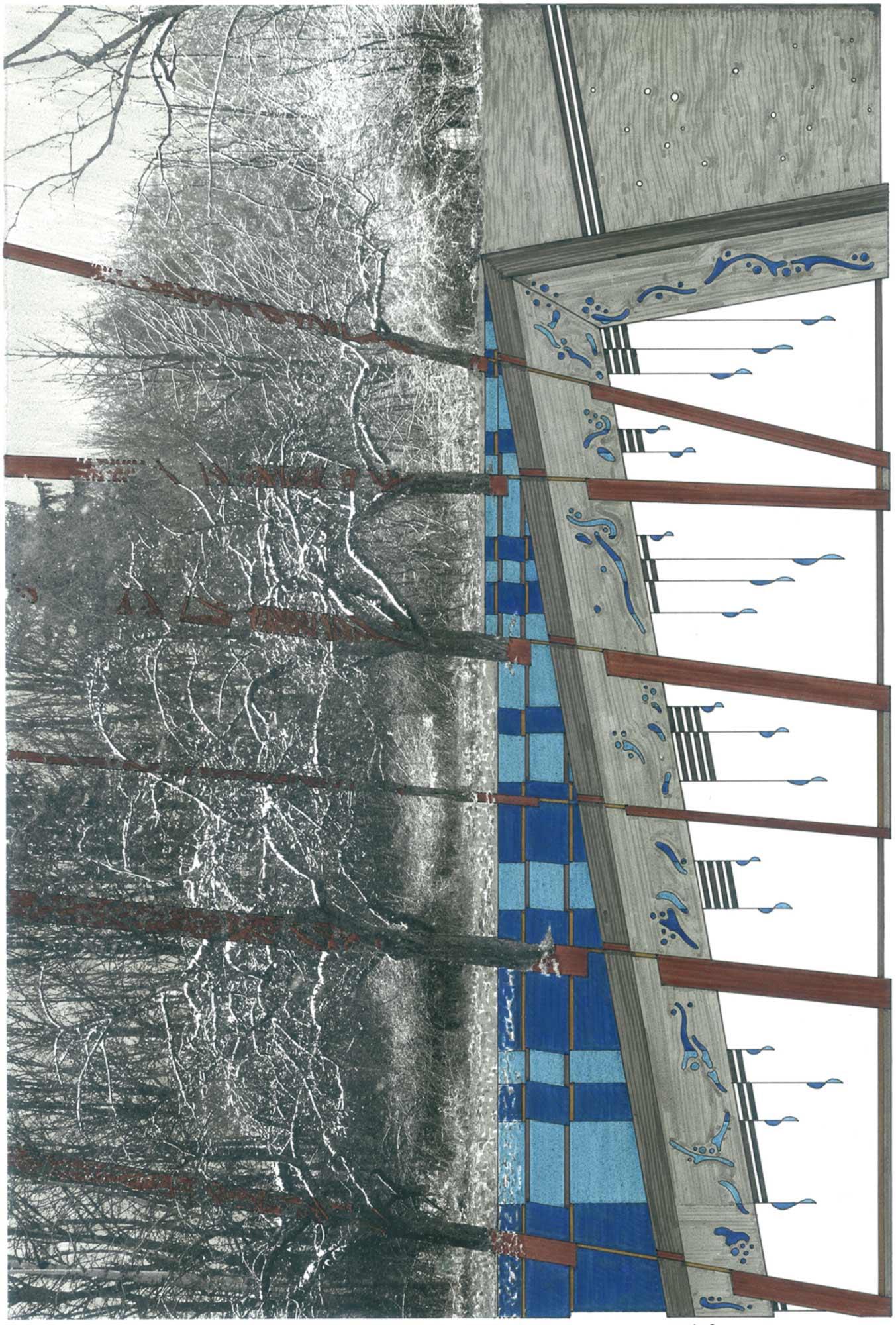 Sarabande, dessin, Raf Listowski, 2008