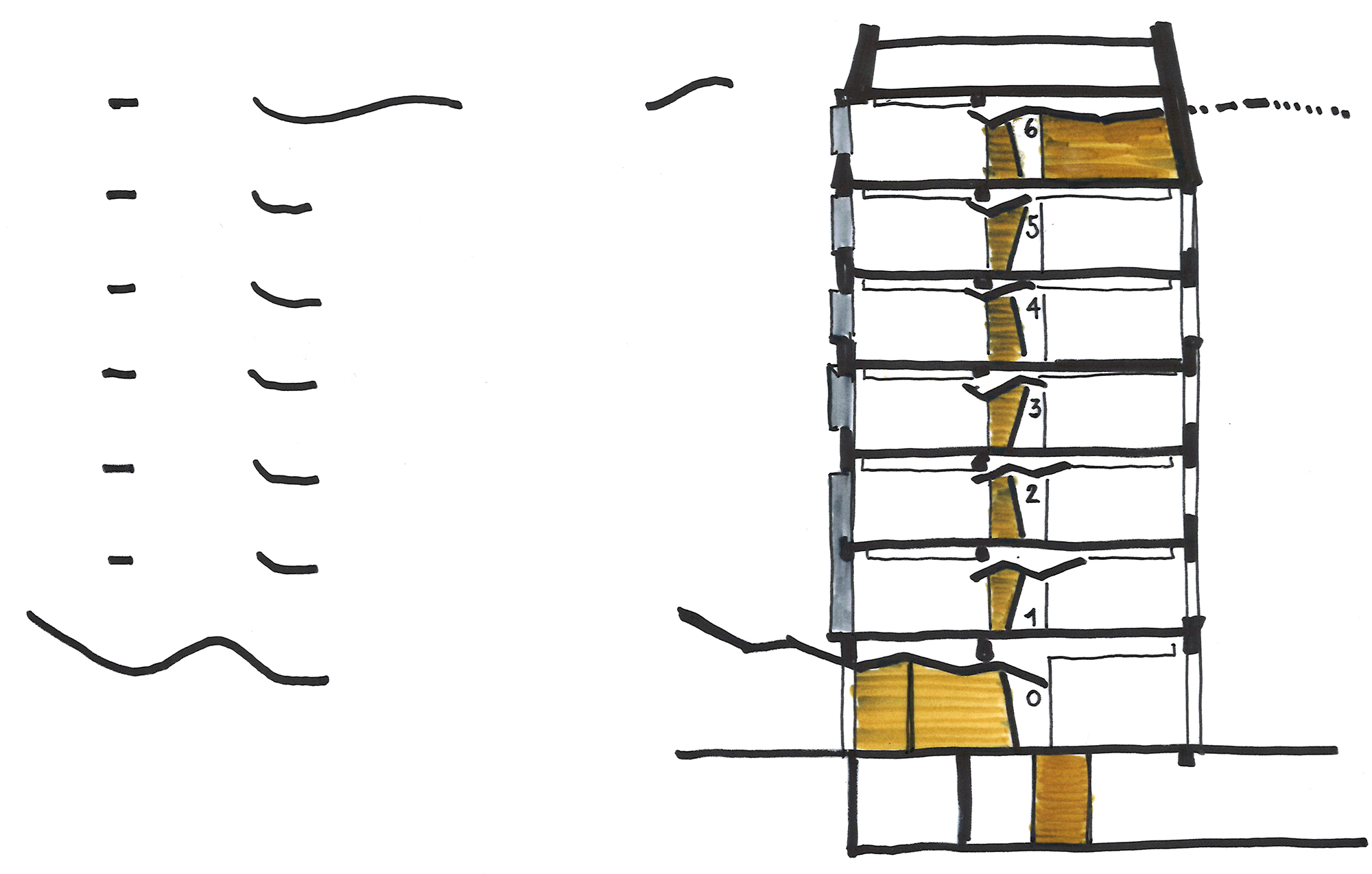 Raf Listowski Atelier d'Architecture carac neuilly restructuration livraison janvier 2021