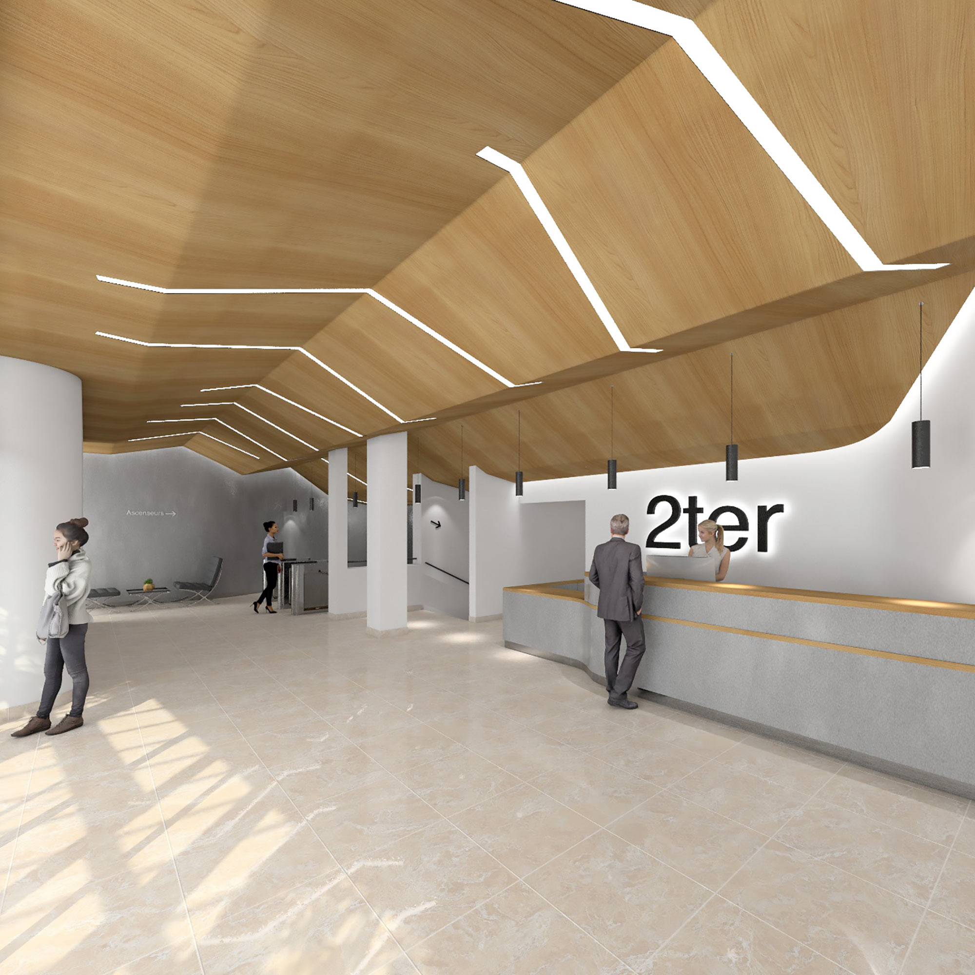 Raf Listowski Atelier d'Architecture carac neuilly restructuration livraison janvier 2021 grégory copitet