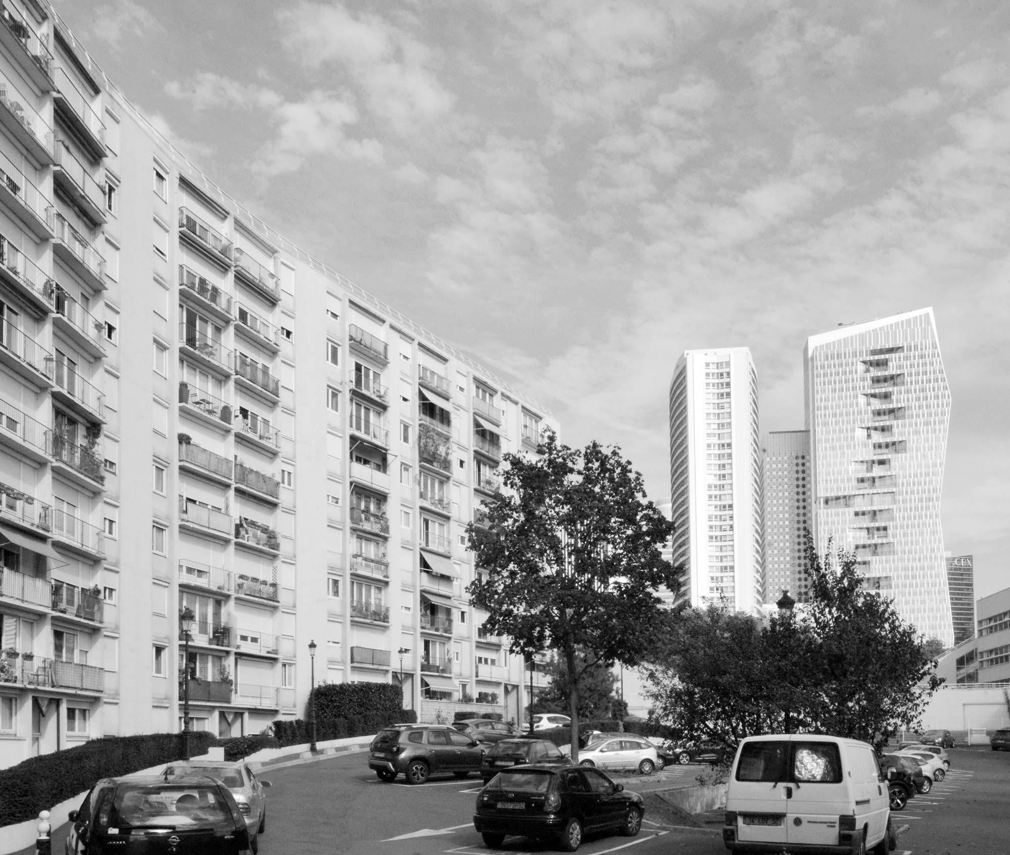 Raf Listowski Atelier d'Architecture Résidence Anatole France ville de Puteaux réhabilitation thermique requalification artichecturale
