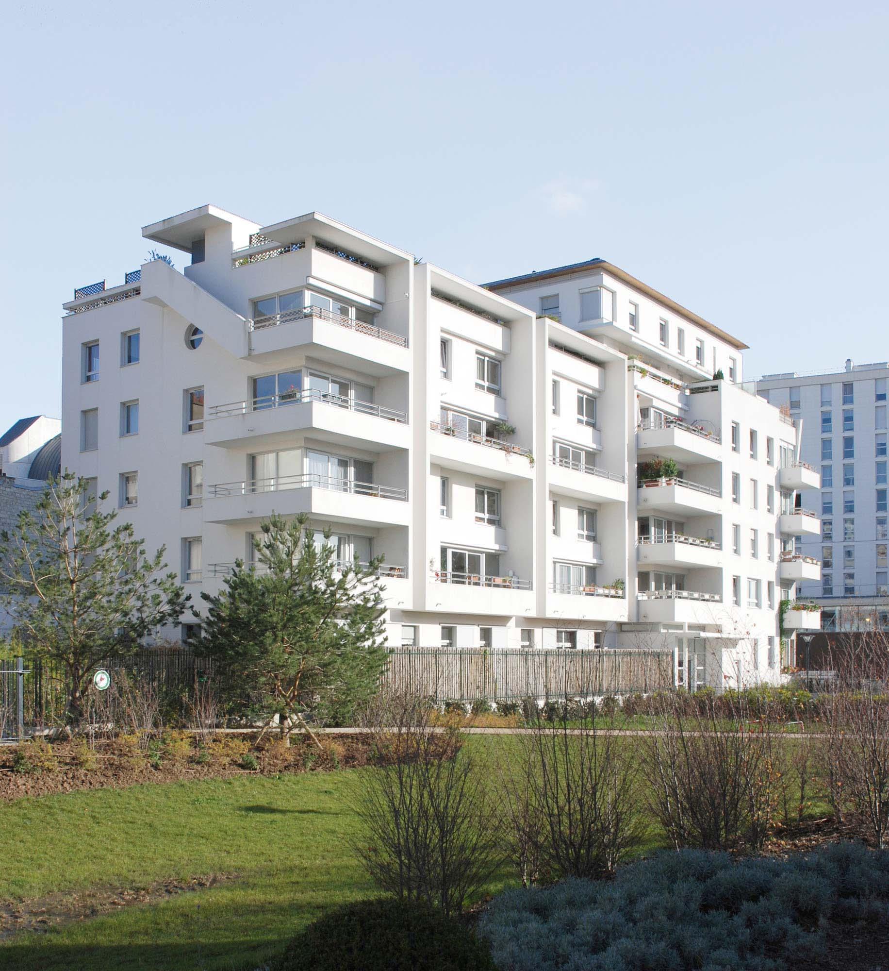 Raf Listowski Atelier d'Architecture Zac Didot Sagi Semea 15 construction immeuble logements accession propriété