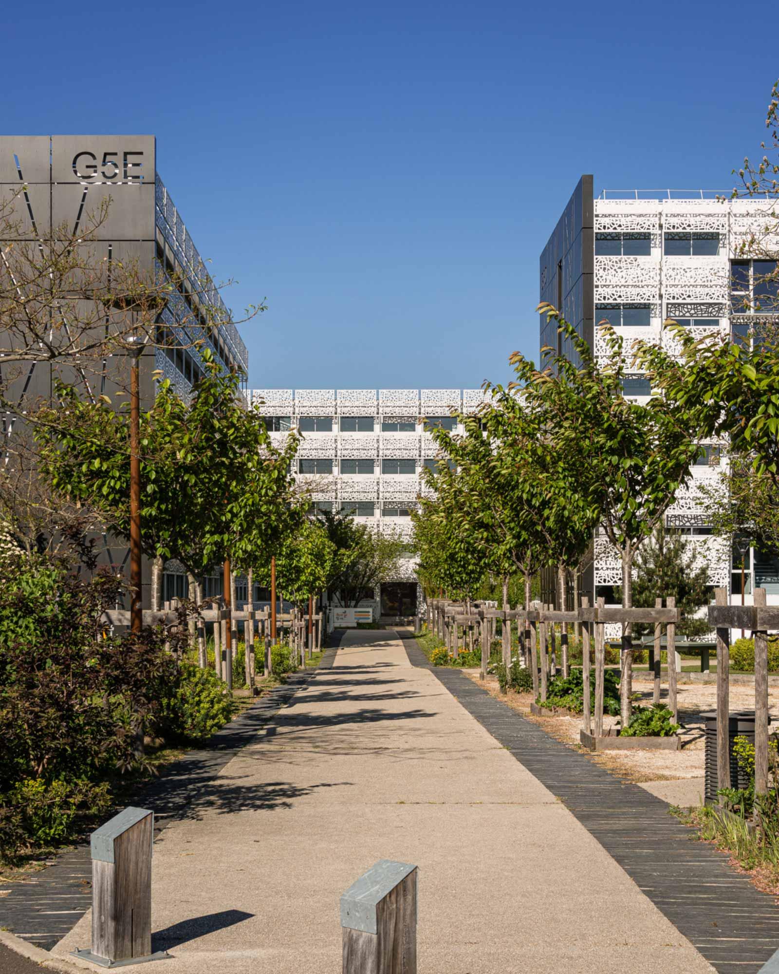 Raf Listowski Atelier d'Architecture rénovation bureaux transformation bâtiments G5 MIN rungis secteur PRI