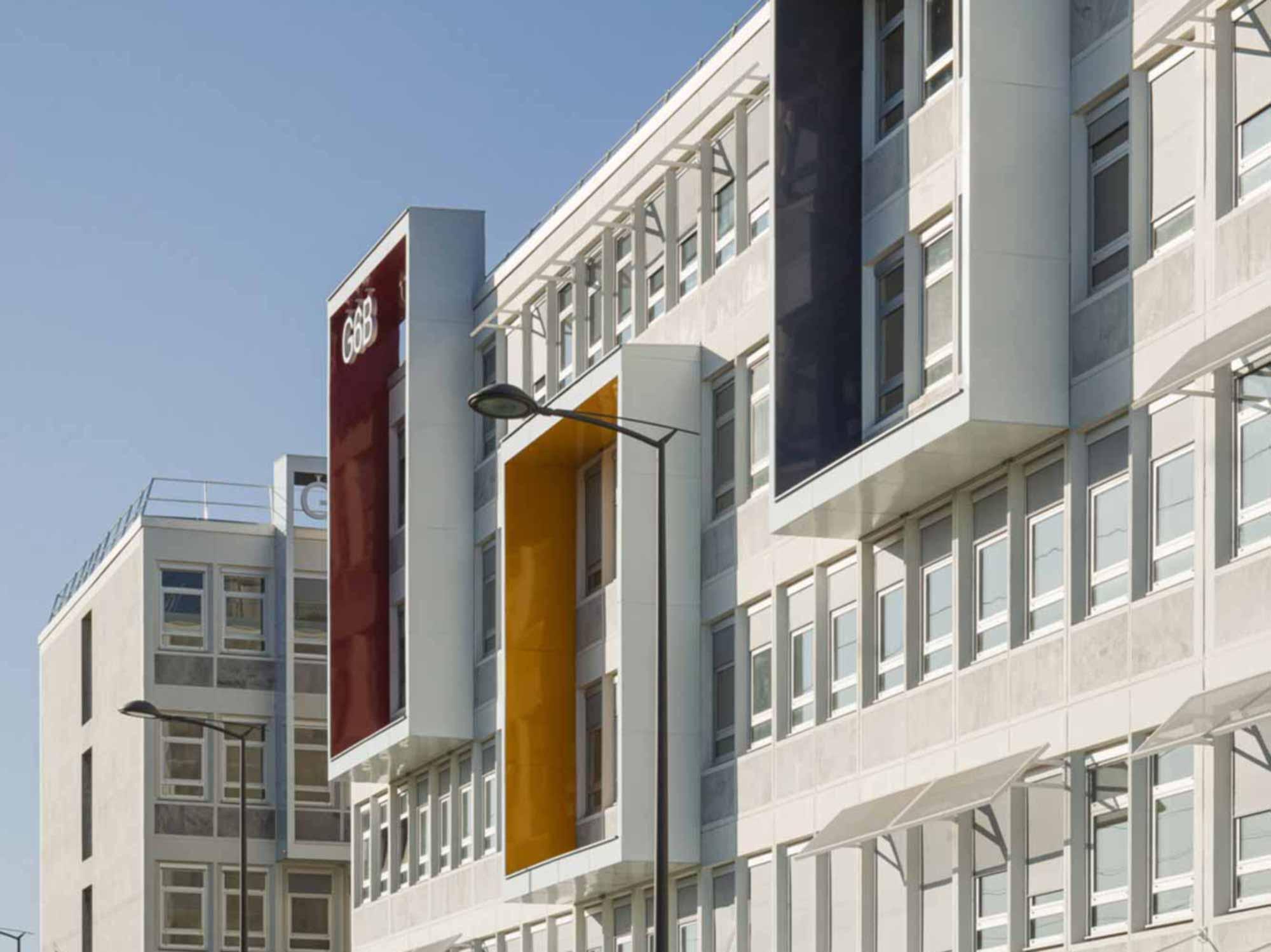 Raf Listowski Atelier d'Architecture Rungis Cité Administrative rénovation architecturale de l'ensemble des bâtiments de bureaux G6