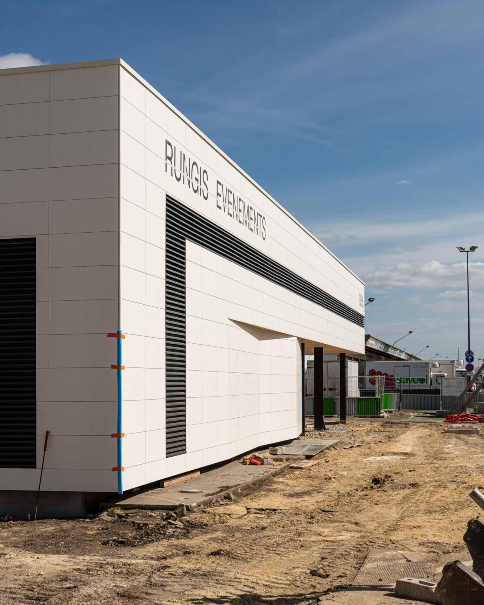 Raf Listowski Atelier d'Architecture espace rungis restructuration transformation livraison juin 2020 grégory copitet
